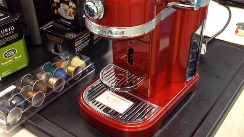 KitchenAid Pricey Pod Coffeemaker Quick Look