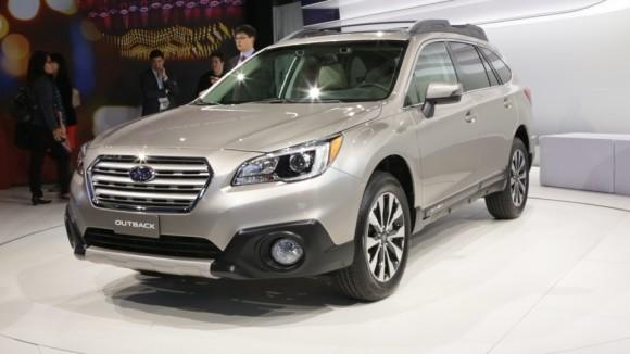 2015 Subaru Outback/Legacy Preview