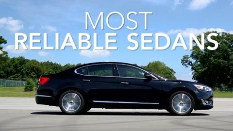 Most Reliable Sedans in 2014