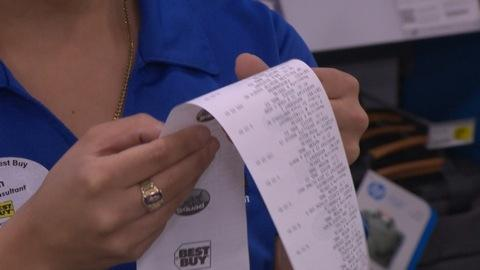 Beware BPA-tainted Receipts