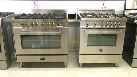 Italian Pro-Style Ranges: Stainless Steals?