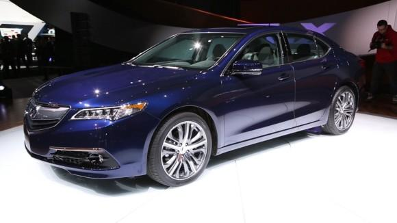 2015 Acura TLX preview