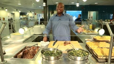 Celeb Chef Aaron McCargo Jr: Food tester for a day