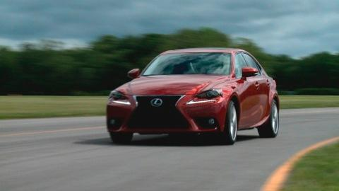 2014 Lexus IS first drive