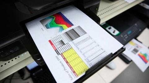 Wasted printer ink