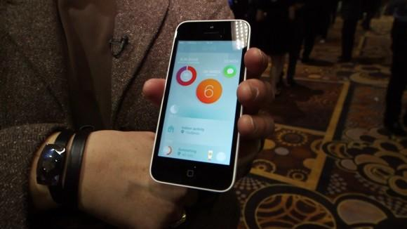 June Sun Protection Coach at CES 2014