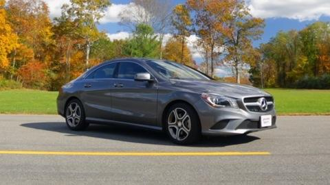 2014 Mercedes-Benz CLA250 first drive