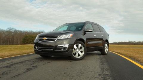 Chevrolet Traverse 2013-2014 Quick Drive