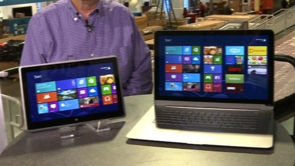 CES 2013: Vizio laptops and tablets