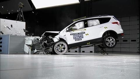 SUV crash tests improve