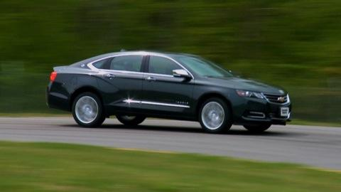 2014 Chevrolet Impala first drive