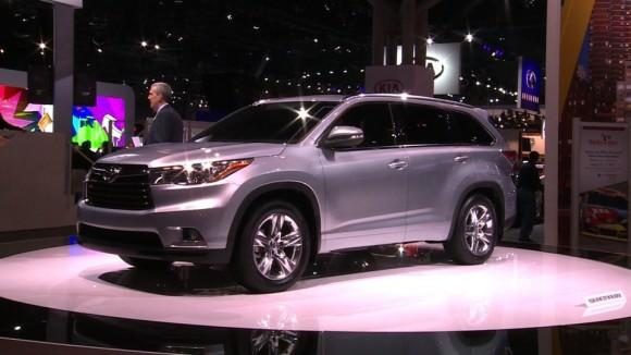2014 Toyota Highlander at the NY Auto Show