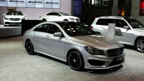 2014 Mercedes-Benz CLA at the NY Auto Show