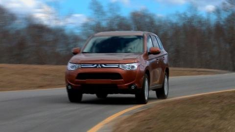 2014 Mitsubishi Outlander first drive