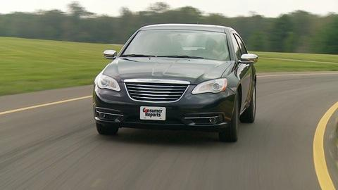 Chrysler 200 & Dodge Avenger 2011-2014 Road Test