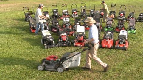 Choosing a lawn mower