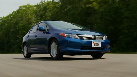 Honda Civic 2012 Road Test