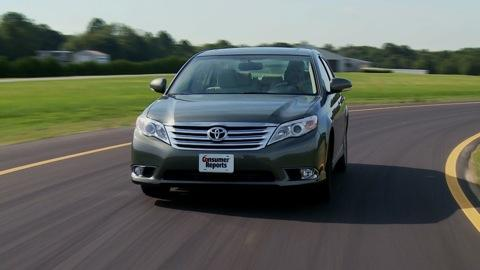 Toyota Avalon 2011-2012 Road Test