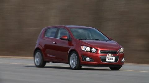 Chevrolet Sonic 2012-2015 Road Test