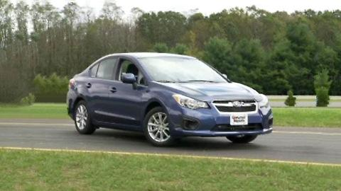 2012 Subaru Impreza first look