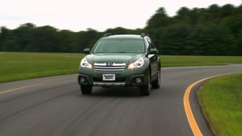 2013 Subaru Outback first drive