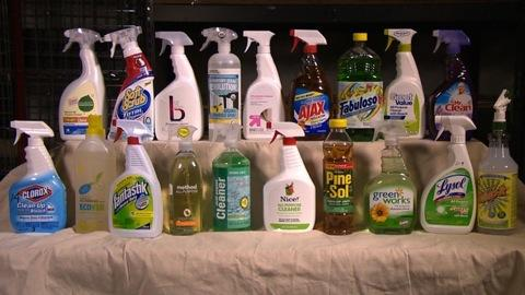 Testing all-purpose cleaners
