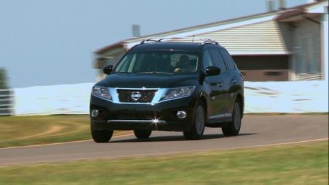 2013 Nissan Pathfinder first drive