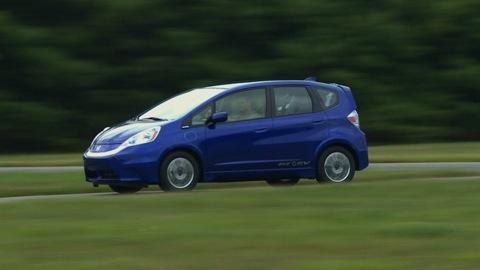 2013 Honda Fit EV first drive