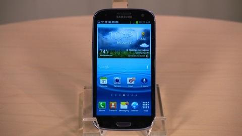 Samsung Galaxy S III first look