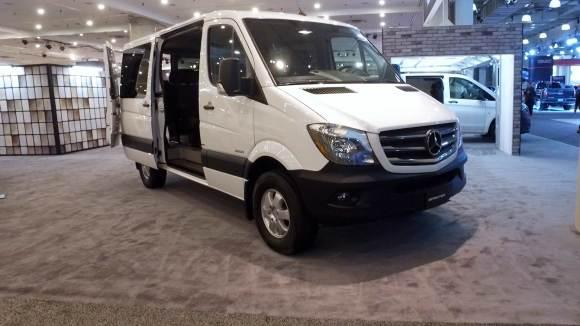 Versatile Mercedes-Benz Sprinter Stands Out