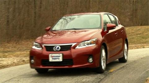 Lexus CT 200h first drive