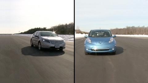 Testing electric cars