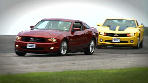 Face-off: Mustang vs. Camaro