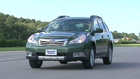 Subaru Outback 2010-2012 Road Test