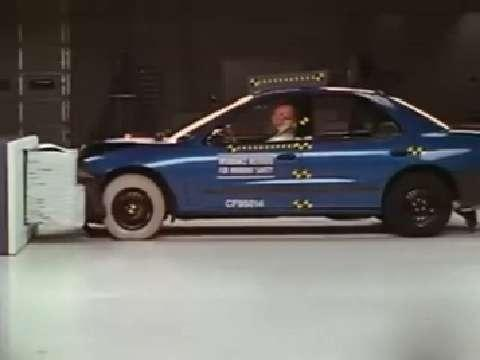 Chevrolet Cavalier crash test 1995-2005