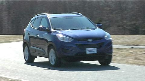 Hyundai Tucson 2010-2015 Road Test
