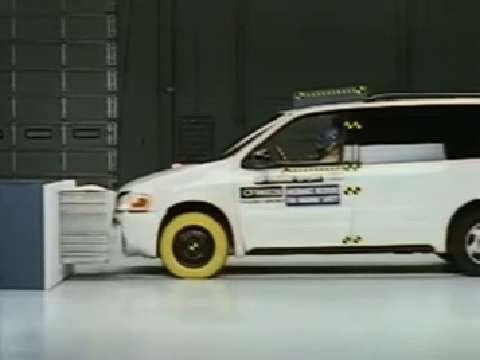 Pontiac Trans Sport crash test 1997-2005