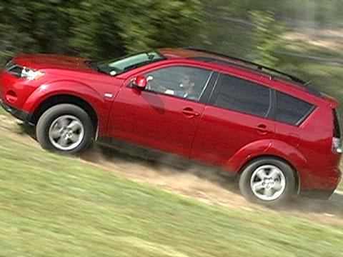 Mitsubishi Outlander 2007-2013 Road Test