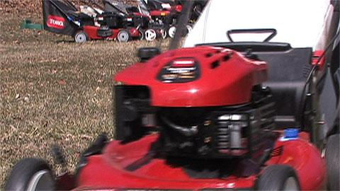 Lawn mower features