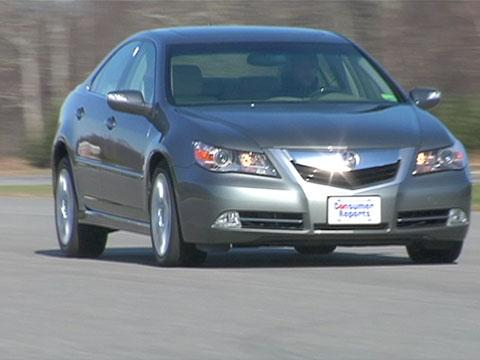 Acura RL 2009-2010 Road Test