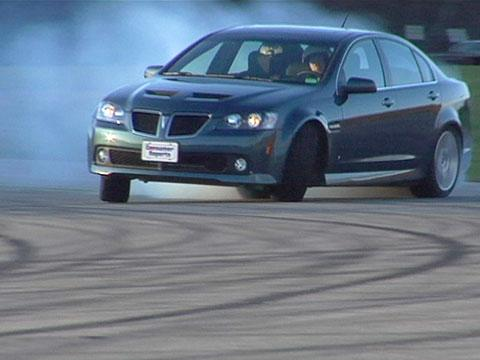Pontiac G8 2008-2009 Road Test