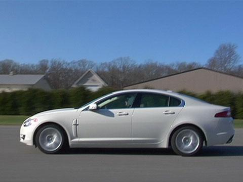 Jaguar XF 2009-2012 Road Test