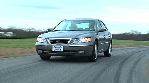 Hyundai Azera 2006-2011 Road Test