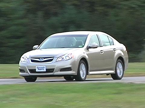 Subaru Legacy 2010-2012 Road Test