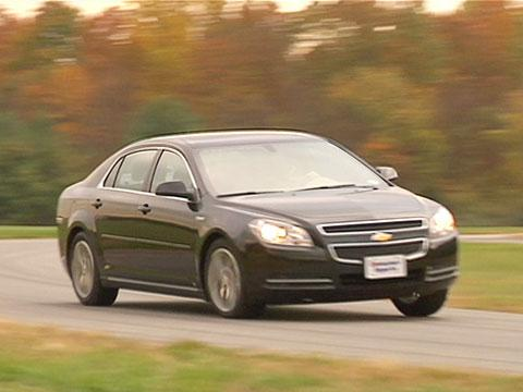 Chevrolet Malibu Hybrid & LT 2008-2012 Road Test