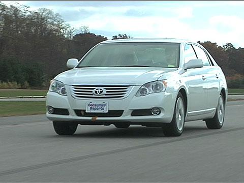 toyota avalon 2011 2012 road test. Black Bedroom Furniture Sets. Home Design Ideas