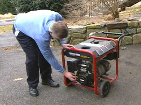 How to safely use a portable generator