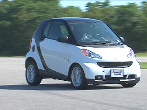 Smart ForTwo 2008-2014 Road Test