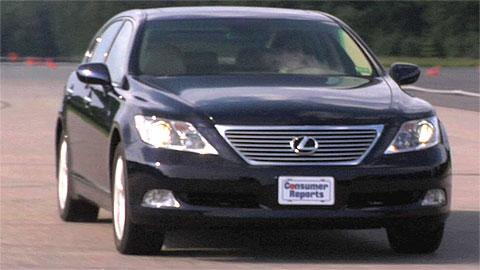 Lexus LS 460L 2007-2012 review