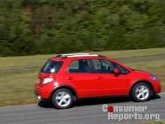 Suzuki SX4 Road Test